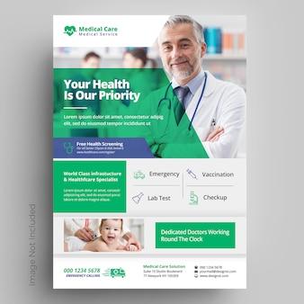 Szablon medyczny i opieki zdrowotnej
