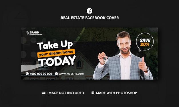 Szablon okładki facebooka nieruchomości