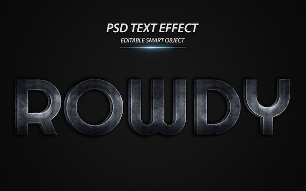 Szablon projektu efektu hałaśliwego tekstu