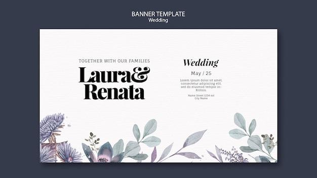 Szablon projektu transparent wesele wydarzenie