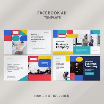 Szablon Reklamy Biznesowej Na Facebooku 08 Premium Psd