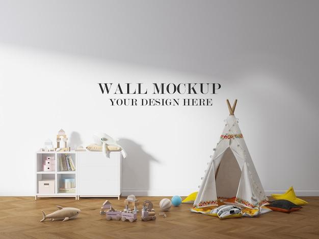 Szablon ściany pokoju dziecka