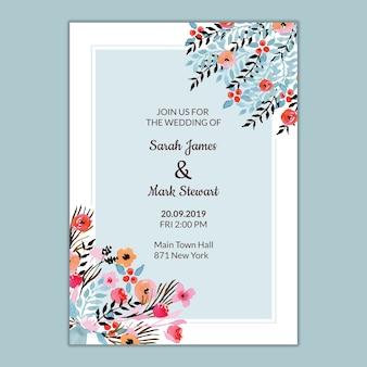 Szablon ślubu