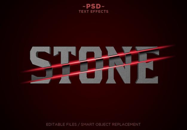 Szablon tekstowy efekty plasterki kamienia