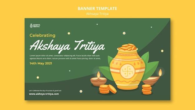 Szablon transparent akshaya tritiya