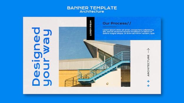 Szablon transparent architektury