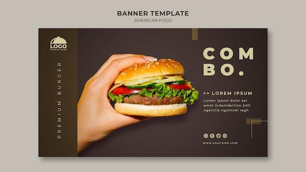 Szablon transparent burger