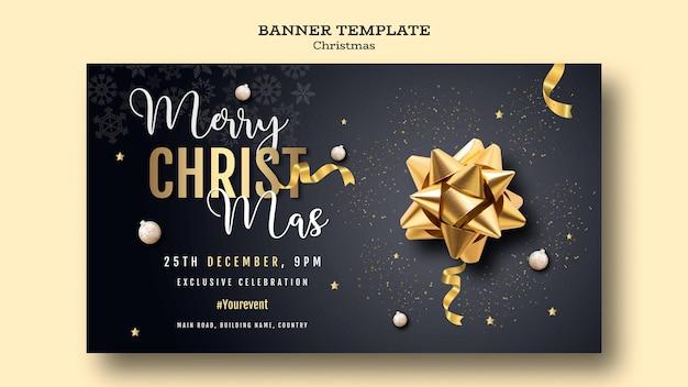 Szablon transparent christmas party