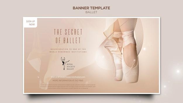 Szablon transparent koncepcja baleriny