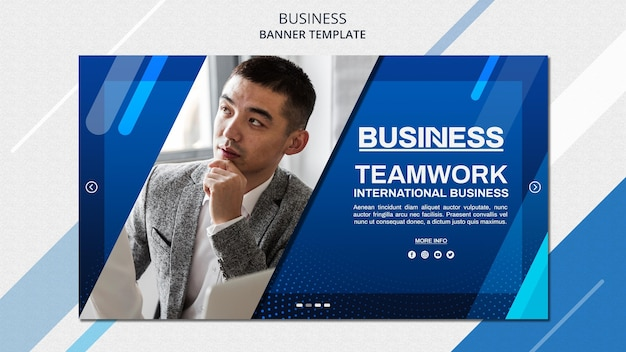 Szablon transparent koncepcja biznesowa