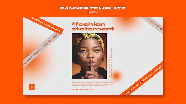 Szablon transparent koncepcja mody