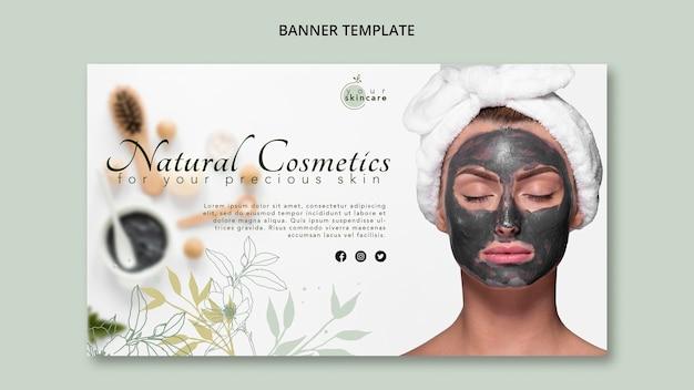 Szablon transparent kosmetyki naturalne