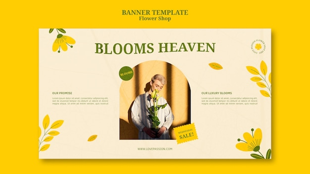 Szablon transparent kwiaciarnia