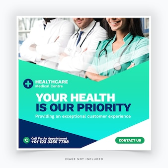 Szablon transparent medyczny sieci web