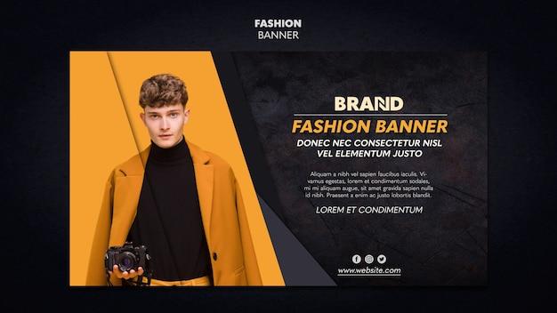 Szablon transparent moda