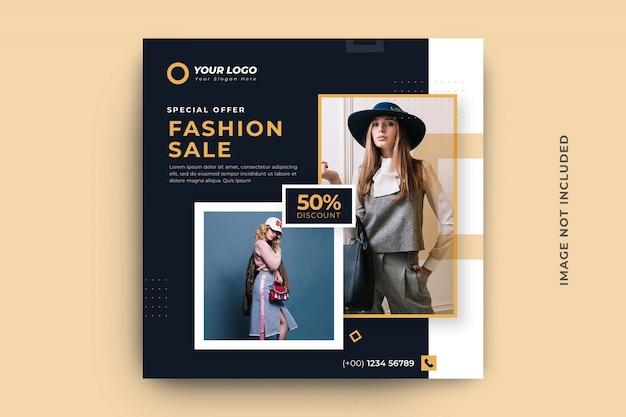 Szablon transparent na sprzedaż mody