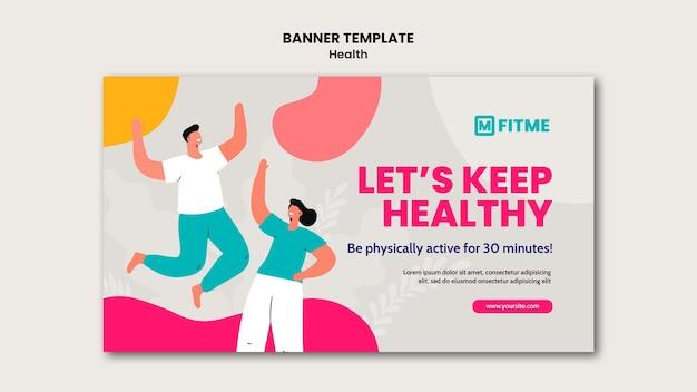 Szablon transparent opieki zdrowotnej