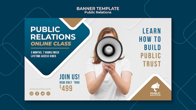 Szablon transparent public relations
