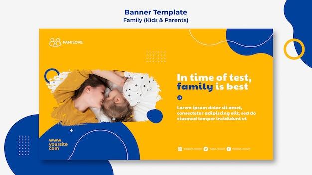 Szablon transparent rodzinny ze zdjęciem