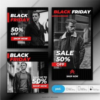 Szablon transparent sprzedaż czarny piątek