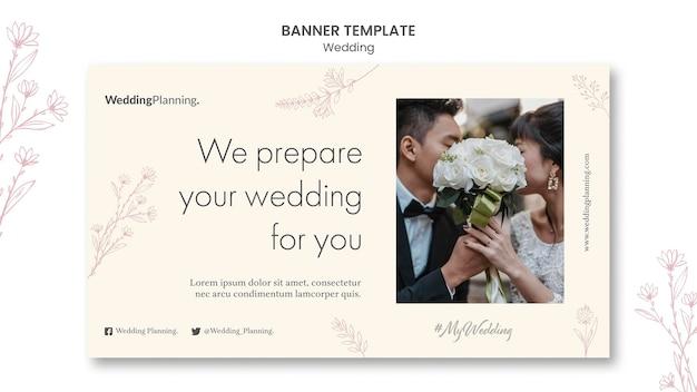 Szablon transparent wesele