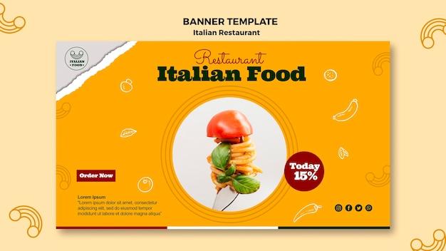 Szablon transparent włoskie jedzenie