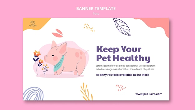 Szablon transparent zdrowe zwierzę domowe