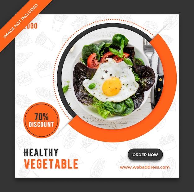 Szablon transparent żywności restauracji