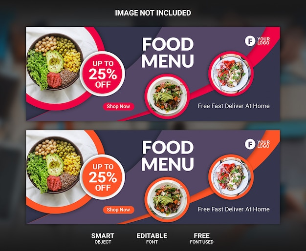 Szablon transparent żywności