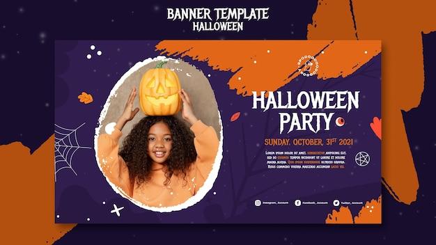 Szablon transparentu halloween