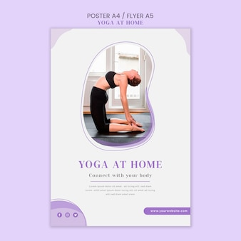 Szablon ulotki jogi w domu