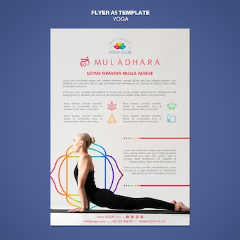 Szablon ulotki koncepcja jogi
