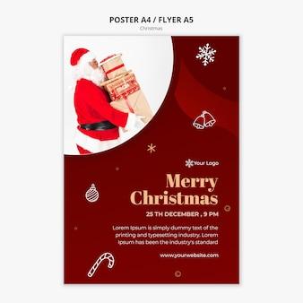 Szablon ulotki świątecznej