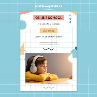 Szablon wydruku szkoły online