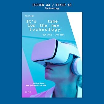 Szablon wydruku wirtualnej rzeczywistości