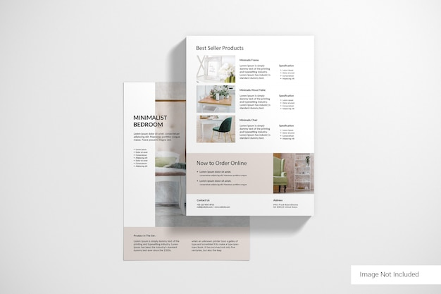 Szablony broszur