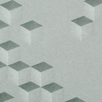 Szare tło wzorzyste sześcienne