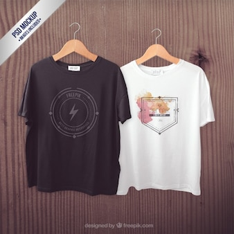 T-shirty makieta
