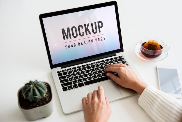 Technologia biznesowa stołu roboczego