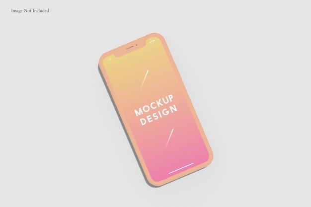 Telefon komórkowy makieta gliny