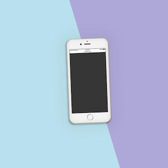 Telefon komórkowy makieta szablon