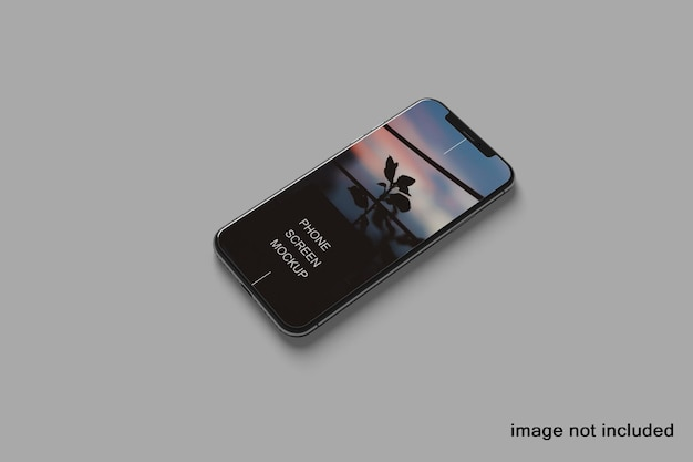 Telefon makieta ekranu mobilnego