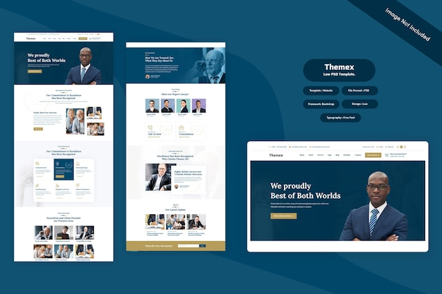 Themex - lower web template
