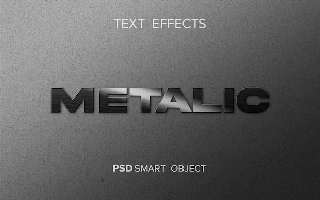 Tłoczenie z efektem tekstu