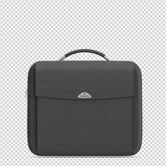 Torba na laptopa izometryczny
