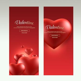 Transparent valentine