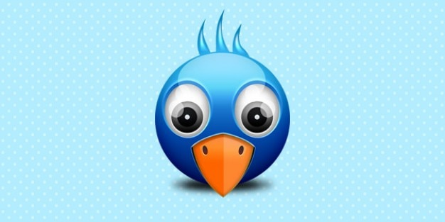 Trochę twitter birdie ikona