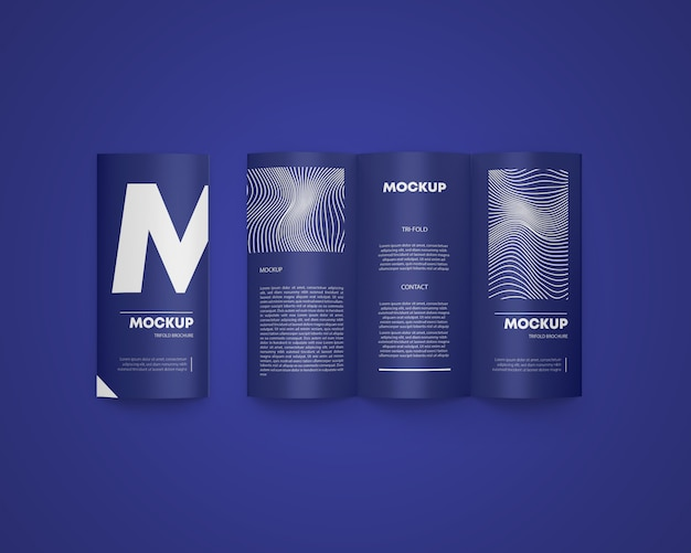 Trójfoldowa broszura a4
