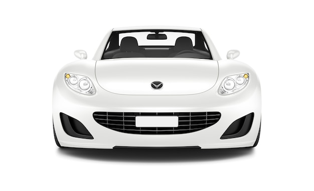 Trójwymiarowy obraz samochodu