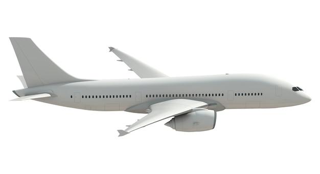 Trójwymiarowy obraz samolotu